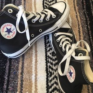 Black High Top Converse!